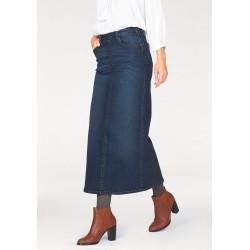 CHEER maxi džínová sukně