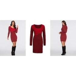 BONPRIX dámské svetrové šaty