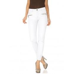 PATRIZIA DINI bílé kalhoty