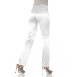 ASHLEY BROOKE  dámské bílé kalhoty