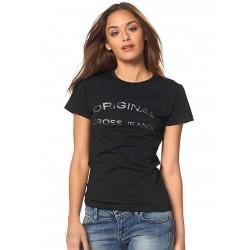 CROSS JEANS černé tričko